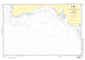 Australia - South Coast (NGA-709-2) by National Geospatial-Intelligence Agency