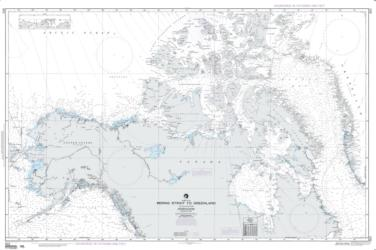 Bering Strait To Greenland - Arctic Ocean (NGA-803-1) by National Geospatial-Intelligence Agency