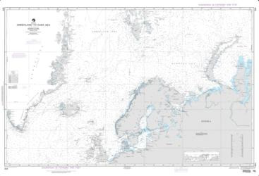 Greenland To Kara Sea (NGA-804-5) by National Geospatial-Intelligence Agency