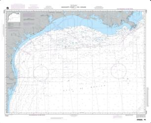 Mississippi River To Rio Grande (NGA-11004-8) by National Geospatial-Intelligence Agency