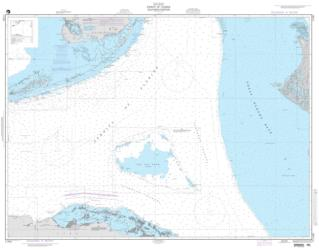 Straits Of Florida - Southern Portion (NGA-11461-5) by National Geospatial-Intelligence Agency