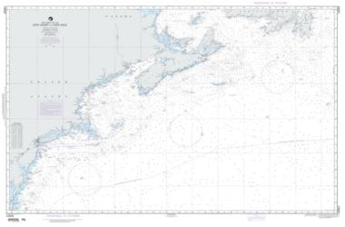 Cape Henry To Cape Race (NGA-14003-6) by National Geospatial-Intelligence Agency