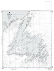 Island Of Newfoundland (NGA-14024-5) by National Geospatial-Intelligence Agency