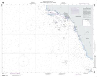 Point Conception To Isla Cedros (NGA-18000-8) by National Geospatial-Intelligence Agency