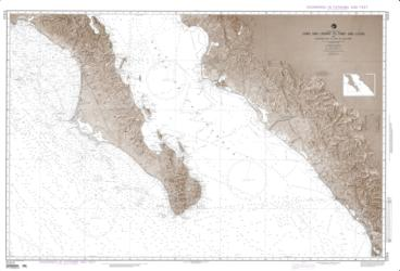 Cabo San Lazaro To Cabo San Lucas (NGA-21014-72) by National Geospatial-Intelligence Agency