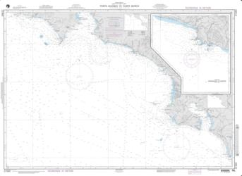 Punta Guiones To Punta Burica (NGA-21560-33) by National Geospatial-Intelligence Agency