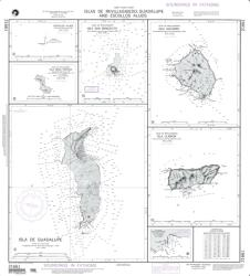 Clipperton Island; Plan A: Escollos Alijos (NGA-21661-12) by National Geospatial-Intelligence Agency