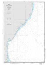 Recife To Belmonte Nautical Chart (24012) by National Geospatial-Intelligence Agency