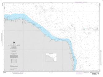 Rio Parnaiba To Recife Nautical Chart (24016) by National Geospatial-Intelligence Agency
