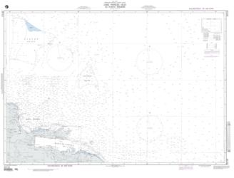 Cabo Frances To Punta Nisibon (NGA-25710-2) by National Geospatial-Intelligence Agency