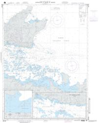 Approaches To Bahia De Samana (NGA-25723-40) by National Geospatial-Intelligence Agency