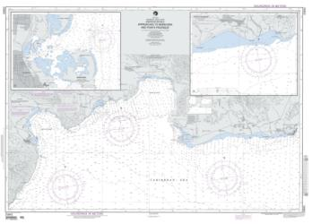 Approaches To Barahona And Punta Palenque Nautical Chart (25842) by National Geospatial-Intelligence Agency