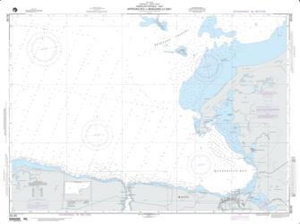 Approaches To Manzanillo Bay (NGA-26140-2) by National Geospatial-Intelligence Agency