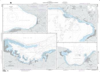Plans In The Golfe De La Gonave; Plan A: Saint-Marc (NGA-26188-11) by National Geospatial-Intelligence Agency