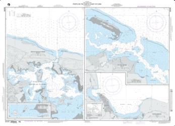 Plans On The North Coast Of Cuba; Panel A: Bahia De Sagua De Tanamo (NGA-26245-16) by National Geospatial-Intelligence Agency
