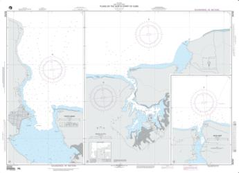 Plans On The North Coast Of Cuba; Plan A: Puerto Gibara (NGA-26250-18) by National Geospatial-Intelligence Agency