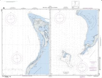 The Bahamas; Panel A: Bird Rock To Mira Vos Passa (NGA-26288-2) by National Geospatial-Intelligence Agency