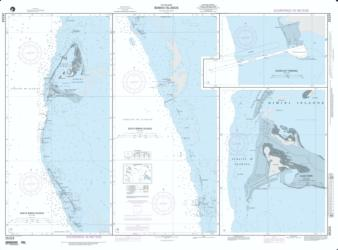 Bimini Islands; Panel A: North Bimini Islands (NGA-26324-16) by National Geospatial-Intelligence Agency
