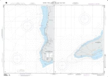 Georgetown Harbor And West End Point; Plan A: Georgetown Harbor (Grand Cayman) (NGA-27243-2) by National Geospatial-Intelligence Agency
