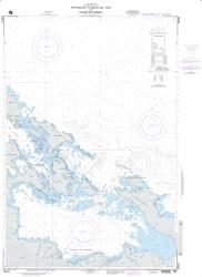 Approaches To Bocas Del Toro And Laguna De Chiriqui (NGA-28041-4) by National Geospatial-Intelligence Agency