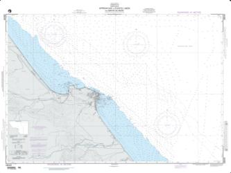 Approaches To Puerto Limon And Bahia De Moin (NGA-28049-13) by National Geospatial-Intelligence Agency
