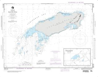 Isla De Utila (NGA-28143-7) by National Geospatial-Intelligence Agency