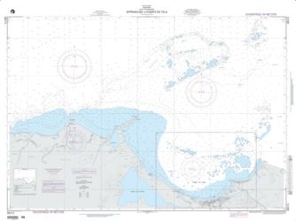 Approaches To Puerto De Tela (NGA-28171-1) by National Geospatial-Intelligence Agency