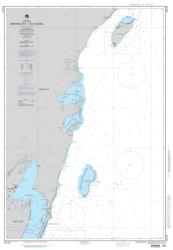 Ambergris Cay To Isla Cozumel Nautical Chart (28190) by National Geospatial-Intelligence Agency