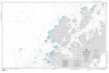 Argentine Islands To Brabant Islands (NGA-29122-5) by National Geospatial-Intelligence Agency