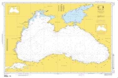Int. 310, Black Sea (NGA-55001-4) by National Geospatial-Intelligence Agency