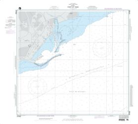 Port Of Tema And Accra Roads; Plan A: Port Of Tema (NGA-57082-4) by National Geospatial-Intelligence Agency