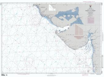 Karachi To Bombay (India) (NGA-63000-13) by National Geospatial-Intelligence Agency