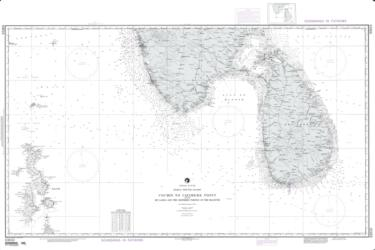 Cochin To Calimere Point With Sri Lanka (NGA-63010-14) by National Geospatial-Intelligence Agency