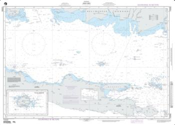 Java Sea (NGA-72000-8) by National Geospatial-Intelligence Agency