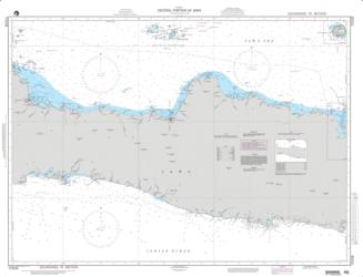 Central Portion Of Java (NGA-72028-7) by National Geospatial-Intelligence Agency