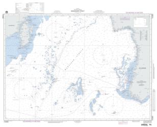 Indonesia - Makassar Strait - Southern Portion (NGA-72085-3) by National Geospatial-Intelligence Agency