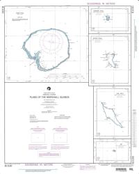 Plans Of The Marshall Islands; Plan A: Ebon Atoll (NGA-81030-5) by National Geospatial-Intelligence Agency