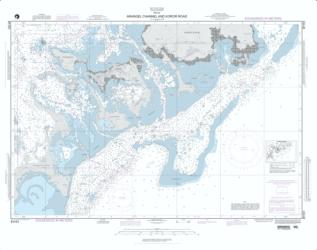 Arangel Channel And Koror Road (NGA-81151-7) by National Geospatial-Intelligence Agency
