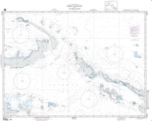 Bismarck Archipelago And Solomon Islands (NGA-82010-6) by National Geospatial-Intelligence Agency