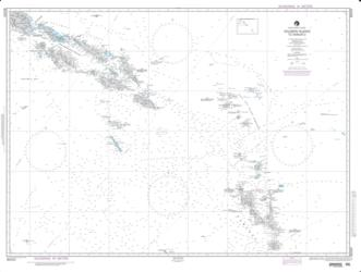 Solomon Islands To Vanuatu (New Hebrides) (NGA-82020-7) by National Geospatial-Intelligence Agency