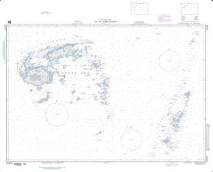 Fiji And Tonga Islands - South Pacific Ocean (NGA-83500-1) by National Geospatial-Intelligence Agency