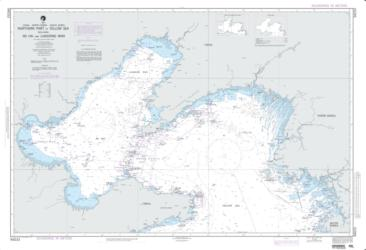 Northern Part Of Yellow Sea (NGA-94033-6) by National Geospatial-Intelligence Agency