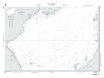 Korea - Sea Of Japan (NGA-95016-9) by National Geospatial-Intelligence Agency