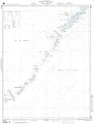 Ostrov Paramushir To Ostrov Simushir Nautical Chart (96024) by National Geospatial-Intelligence Agency