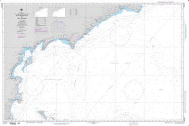 Mys Kronotskiy To Mys Navarin Nautical Chart (96032) by National Geospatial-Intelligence Agency