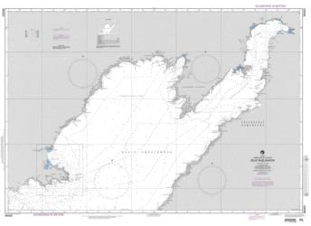 Zaliv Shelikhova Nautical Chart (96460) by National Geospatial-Intelligence Agency