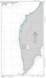 West Coast Of Poluostrov Kamchatka Nautical Chart (96480) by National Geospatial-Intelligence Agency