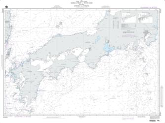 Honshu: Korea Strait To Tokyo-Wan (NGA-97021-7) by National Geospatial-Intelligence Agency