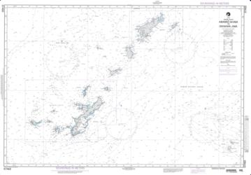 Amami-O Shima To Okinawa Jima (NGA-97460-7) by National Geospatial-Intelligence Agency