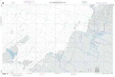 East Siberian Sea - Western Part Nautical Chart (41000) by National Geospatial-Intelligence Agency